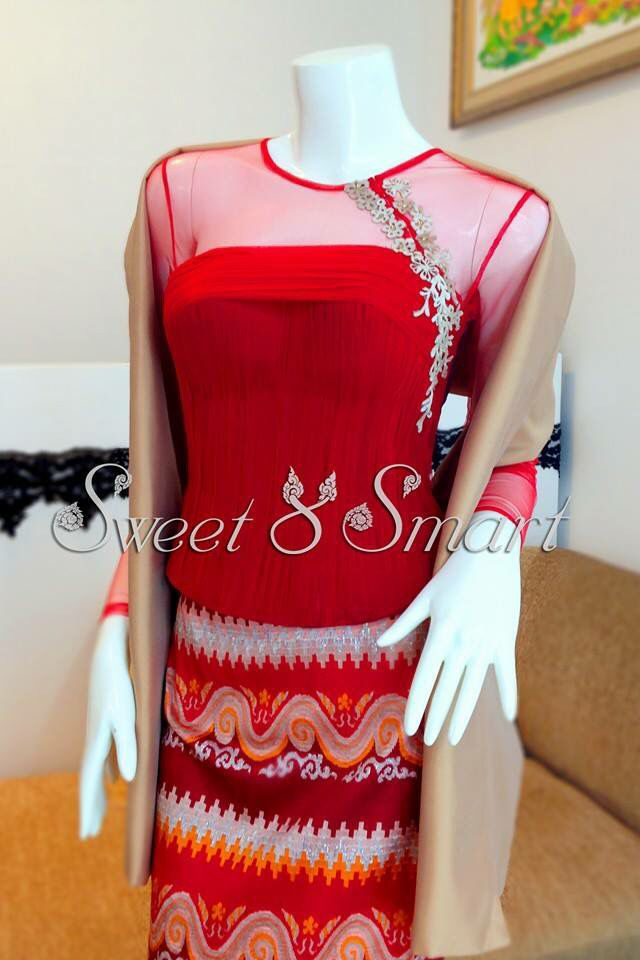 Love The Top Sweet And Smart Clothing Myanmar Traditional Dress Traditional Dresses Dresses