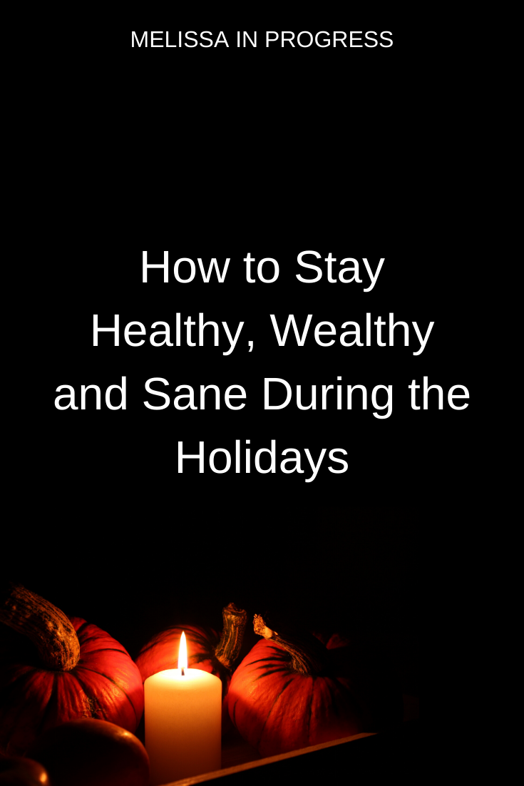 Already stressing and worrying about the holidays? Find out easy tips to be healthy--physically, men...