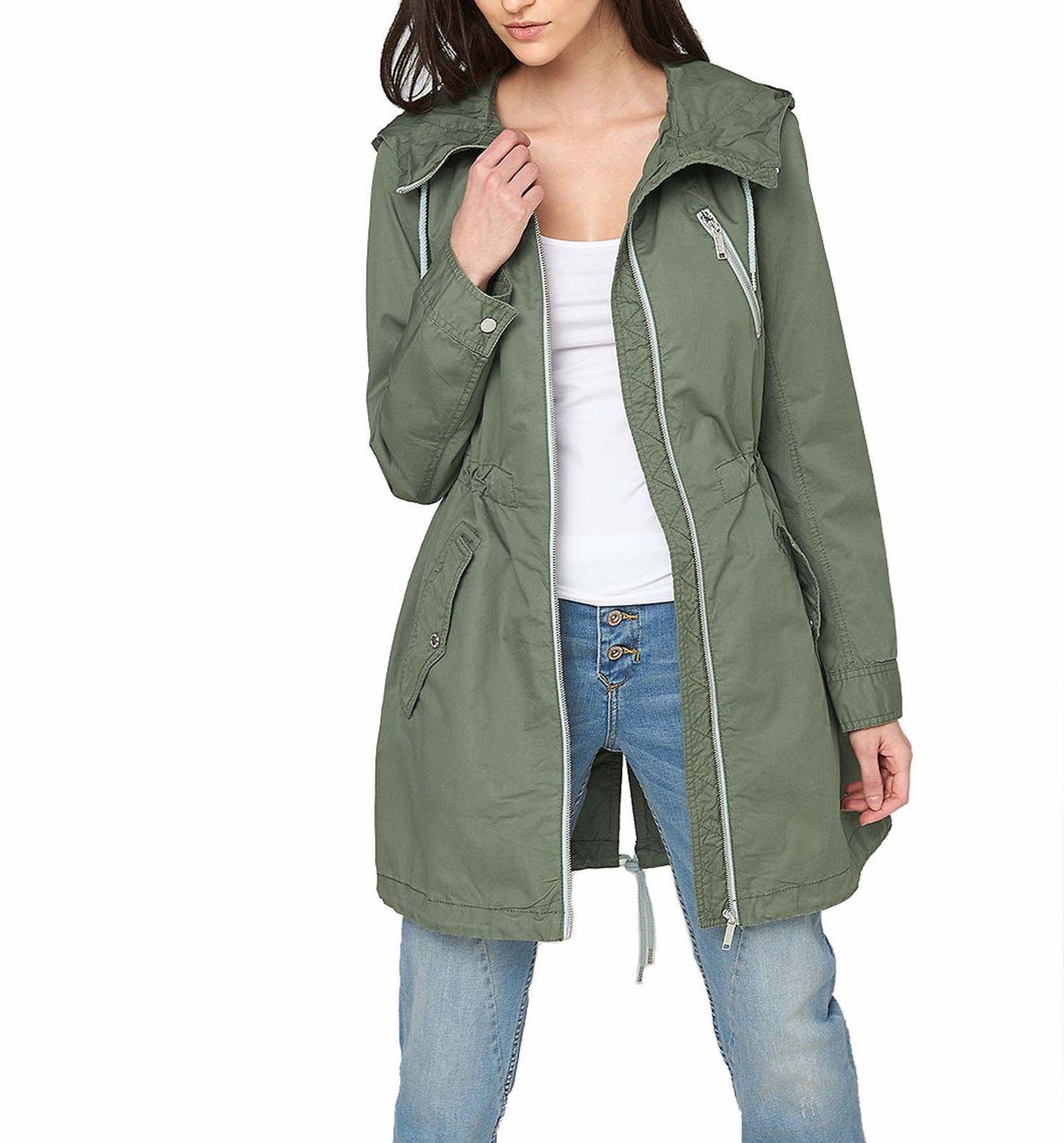 S Oliver Damen Parka Sommermantel Forrest Green Neu Gr 40 In Kleidung Accessoires Damenmode Jacken Mantel Ebay Damen Mode Damenmode Mantel Kaufen
