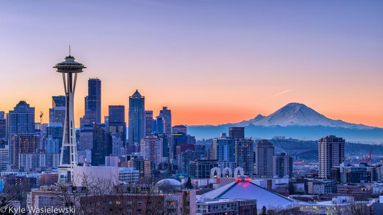 Free Download Sunset In Seattle Wallpapers 2048x1152 For Your Desktop Mobile Tablet Explore 62 Seattle Wallpaper Seattle Seahawks W Seattle Wallpaper Seattle Wallpaper