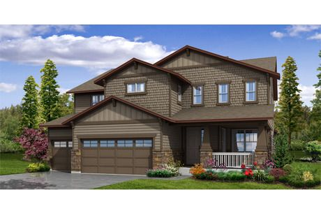 The Crestone By Meritage Homes At Leyden Rock The Summit Collection New Homes For Sale Home New Homes