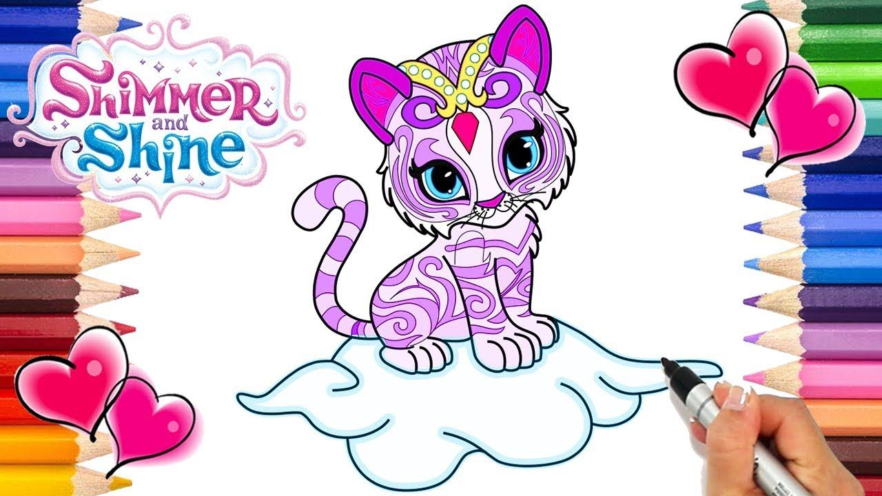 - Nahal Shimmer And Shine Coloring Page Shimmer And Shine Coloring