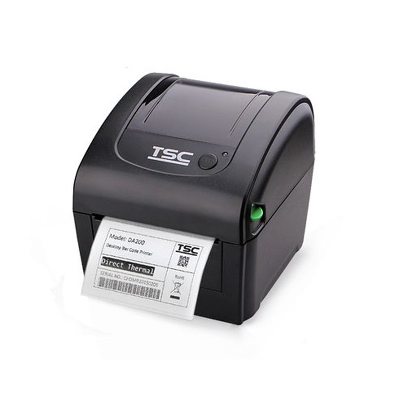 TSC thermal label printer DA200 special for printing 4x6 express - free shipping label maker