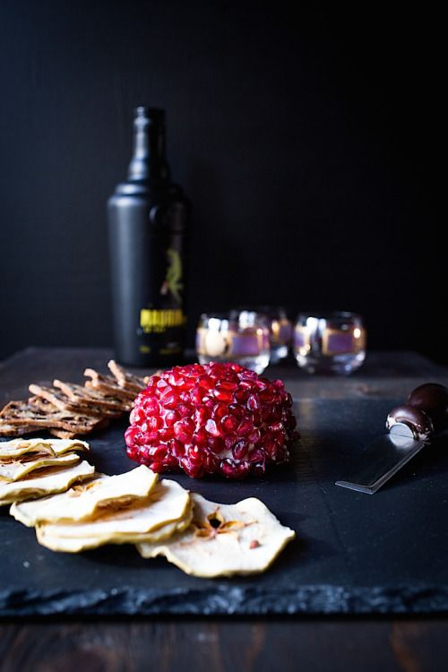 Zaatar Pomegranate Cheese BallReally nice recipes. Every  Mein Blog: Alles rund um die Themen Genuss & Geschmack  Kochen Backen Braten Vorspeisen Hauptgerichte und Desserts