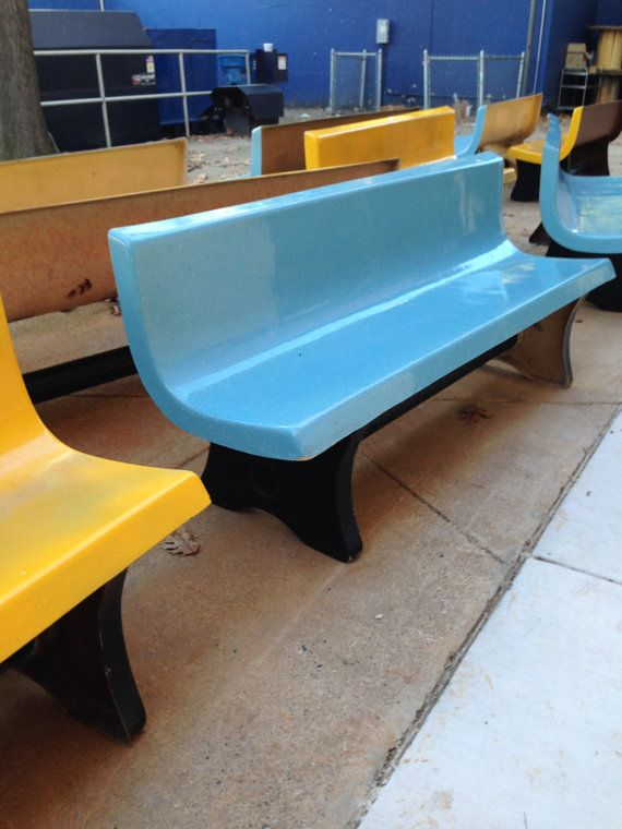Group of Mid-Century Modern Benches From Drexel University   Bench ...
