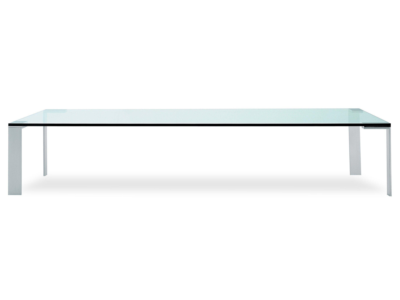 liko glass mesita rectangular by desalto disea o arik levy mobilier