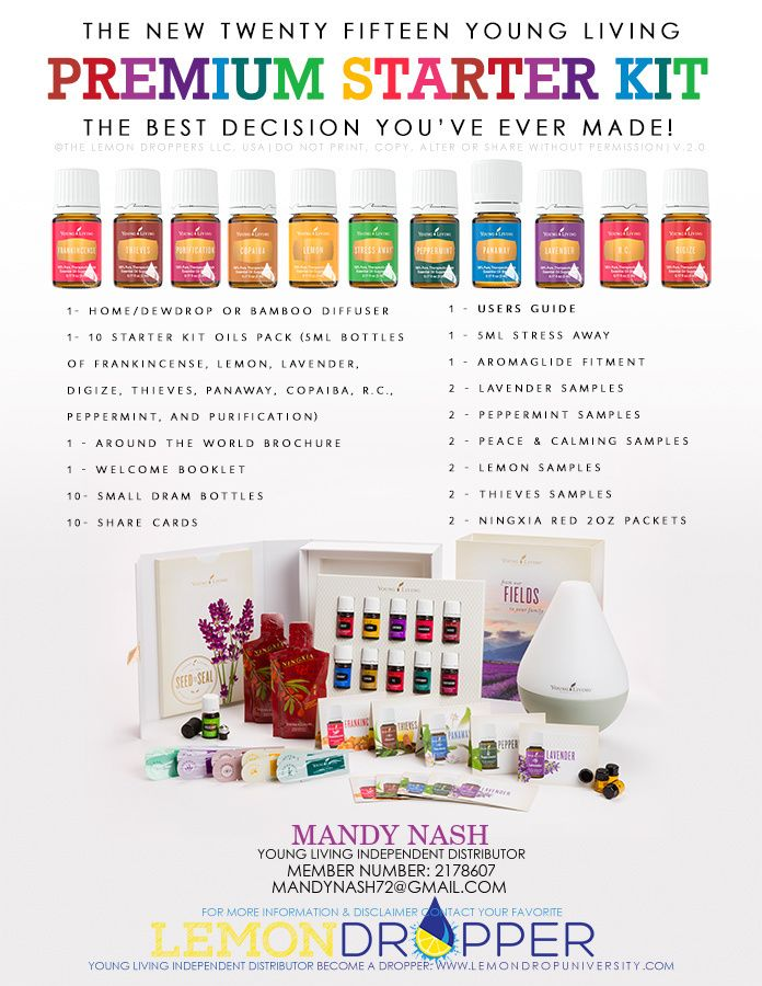 Such a great way to begin! Awesome, economical way to begin your love of oils. Includes samples and all the basic oils that everyone loves to have on hand!