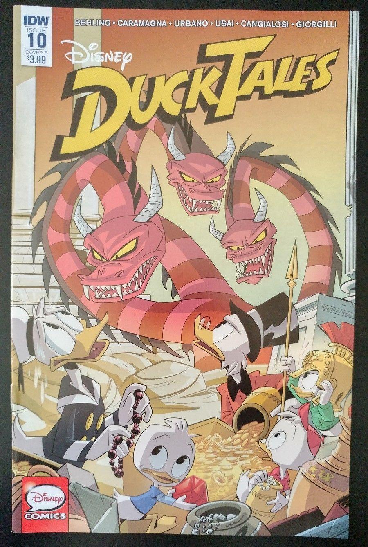 DUCKTALES 10b Disney 2017 IDW Comics Variant Cover