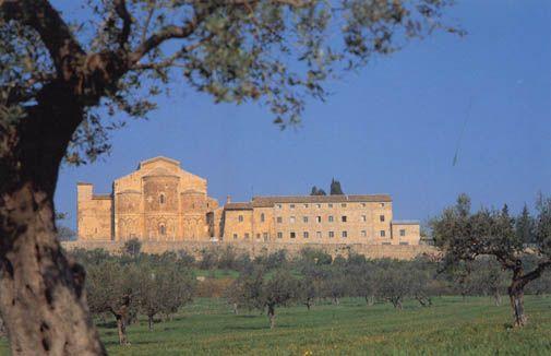 Monastery of San Giovanni in Venere, Rocca San Giovanni. Know more about Abruzzo's top attractions here - -> http://www.wickedgoodtraveltips.com/2014/02/italys-big-open-secret-visit-abruzzo-for-la-dolce-vita/