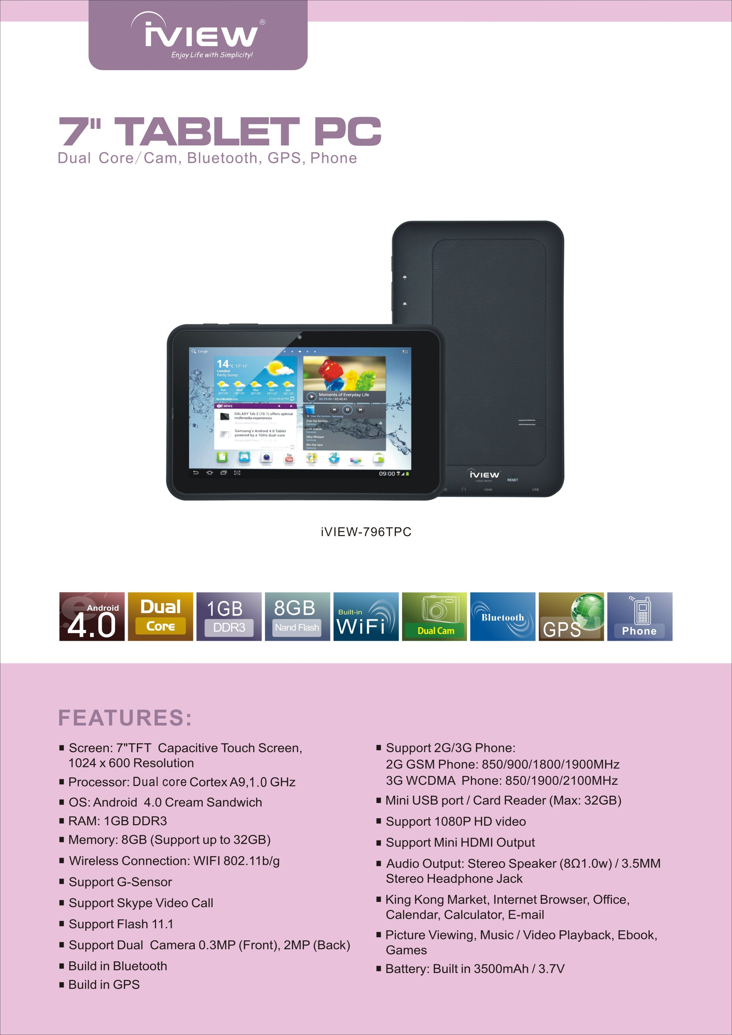Iview i-1010QW Tablet Driver for Windows 10