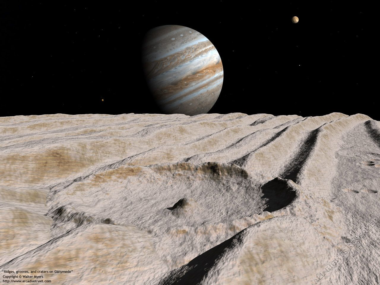 Jupiter's moon Ganymede may have layered oceans that ...