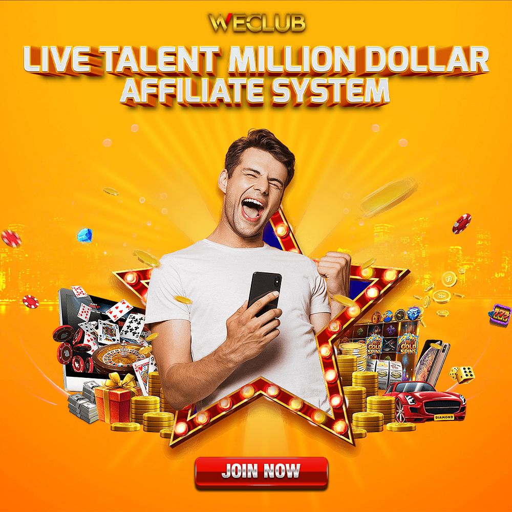 WANT TO EARN PASSIVE INCOME DURING MCO PERIOD? JOIN WECLUB LIVE TALENT MILLION DOLLAR AFFILIATE SYSTEM💸💸 ---------- #OnlineCasino #OnlineCasinoMalaysia #CasinoOnline #OnlineSlots #onlinebettingmalaysia #bestonlinecasinomalaysia #trustedonlinecasino #livecasino #malaysiaonlinecasino  #malaysiacasino #casinoonlinemalaysia #malaysiatrustedcasino #casino #malaysia #malaysiacasinoonline #affiliatemarketing #affiliate #casinovip #casinoaffiliate #affiliateprogram