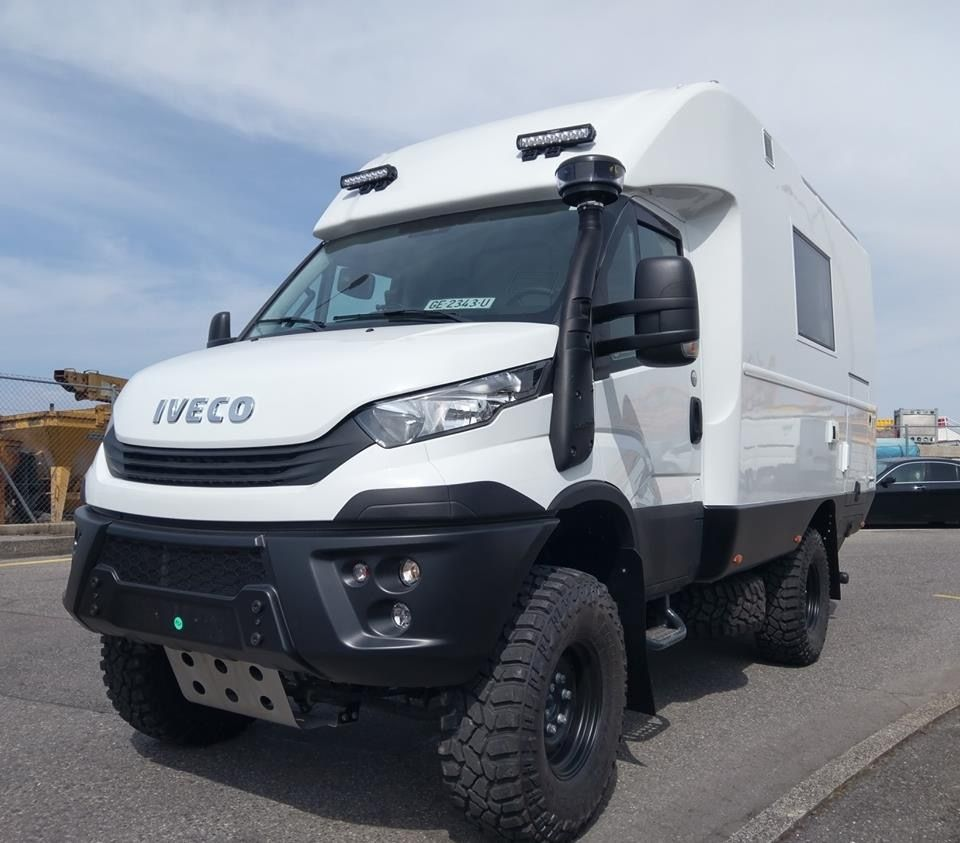 Preparation on this beautiful iveco daily that we have equipped