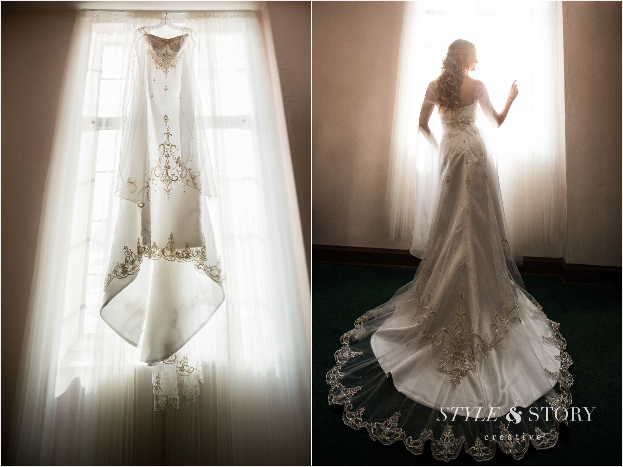 Wedding dress was inspired by Twilight Princess Zelda and Lord of