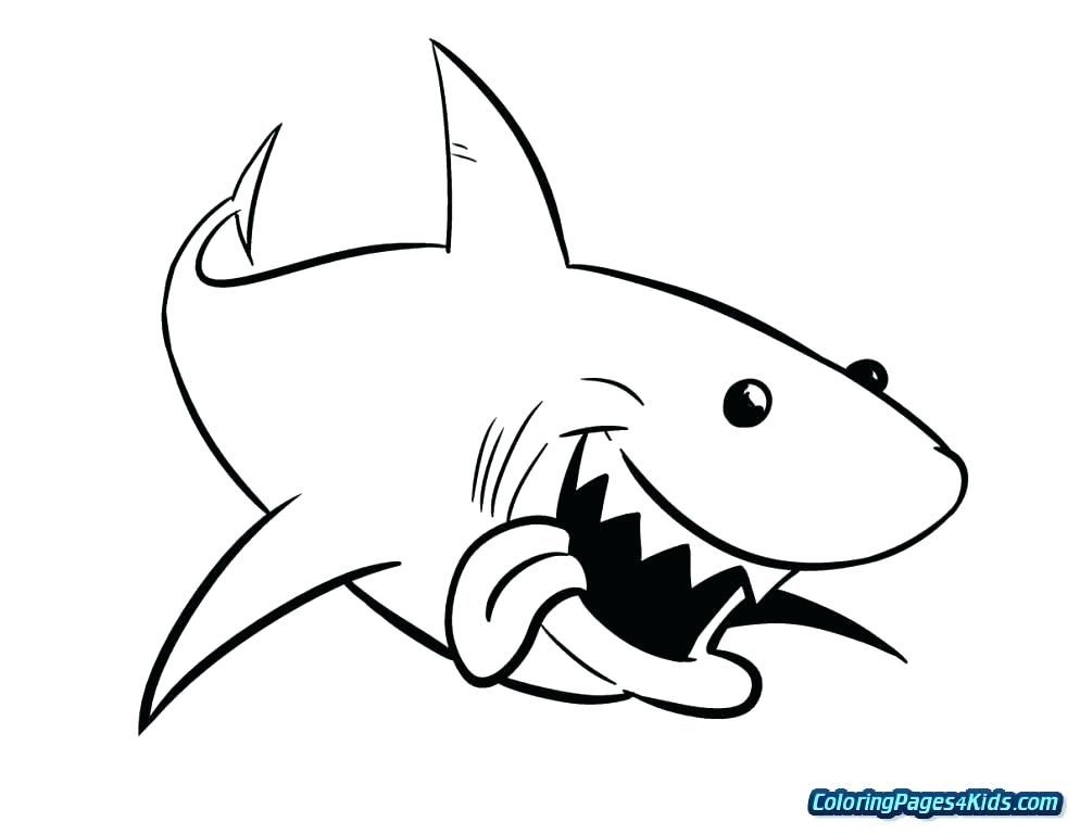 Printable Shark Coloring Pages for Kids