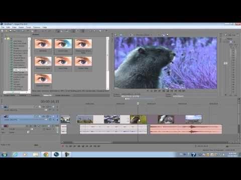 sony vegas pro 11: beginners tutorial | video fx | pinterest, Presentation templates