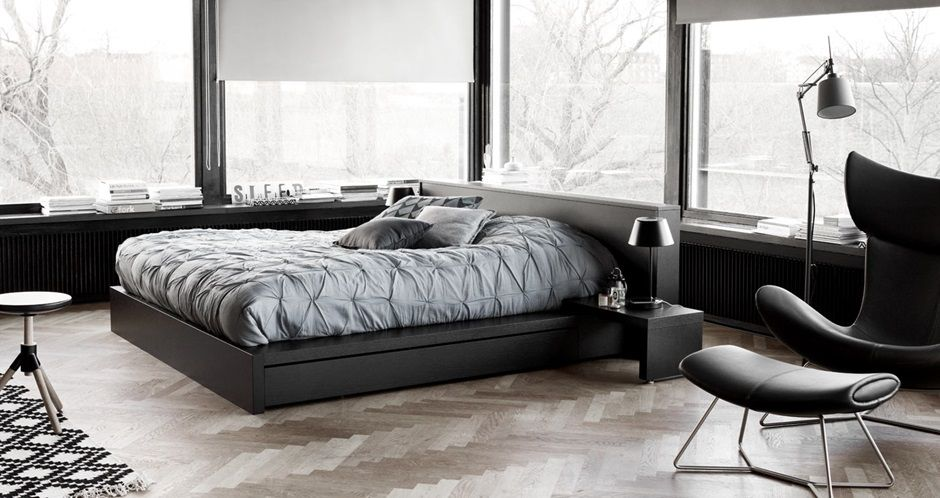 BoConcept Limo bed and Imola chair | Design: Bedroom | Pinterest ...
