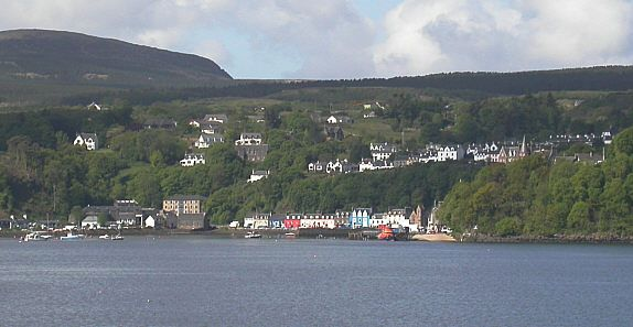 Tobermory, Mull – as viewed from the Sound of Mull