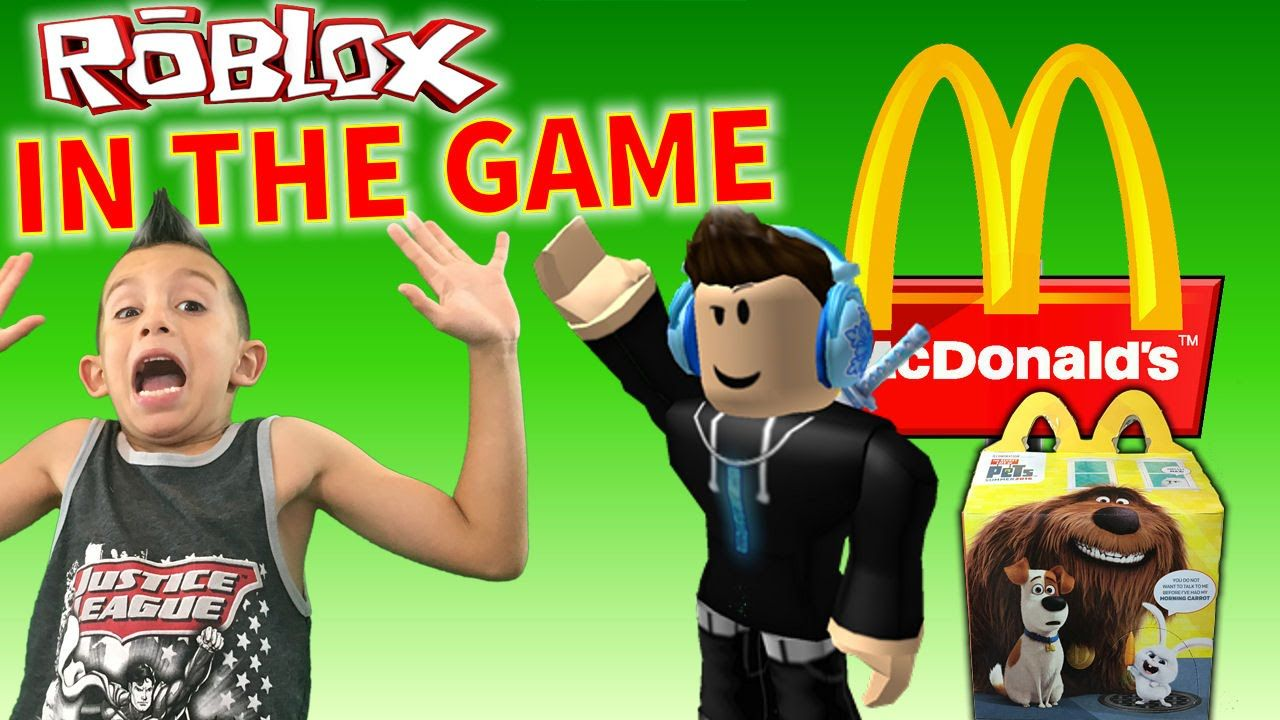 Roblox Mcdonalds Mod Happy Meal The Secret Life Of Pets Blind Box Toy Opening Kids Adventure Secret Life Of Pets Pets Movie