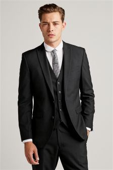 Black Slim Fit Suit Jacket (453143) | £79 | Suits for Suitltd ...