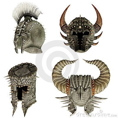 Fantasy helmets 1
