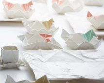 Origami snack bowl