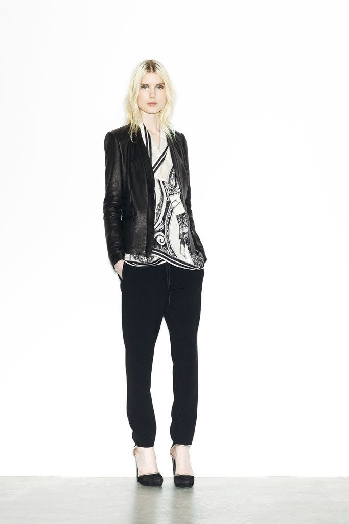 DKNY Resort 2012 Fashion Show - Elsa Sylvan
