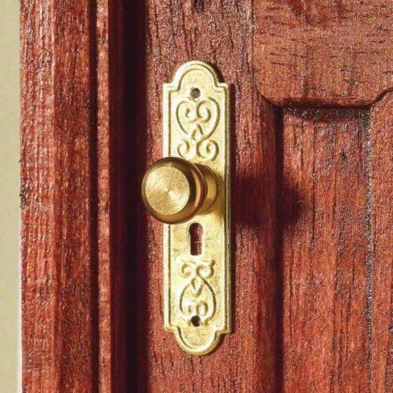 Door Plates & Knobs, 2 pcs 20 x 6mm