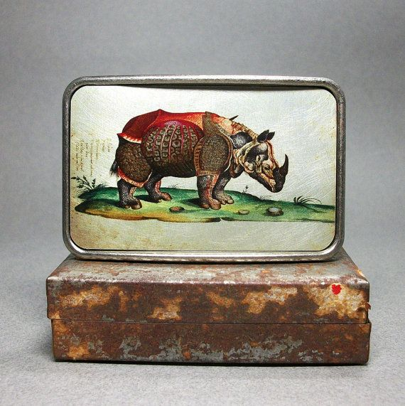 unique gift for men - Belt Buckle Rhinoceros Rhino Armour Cool by decembermoondesign, $29.00