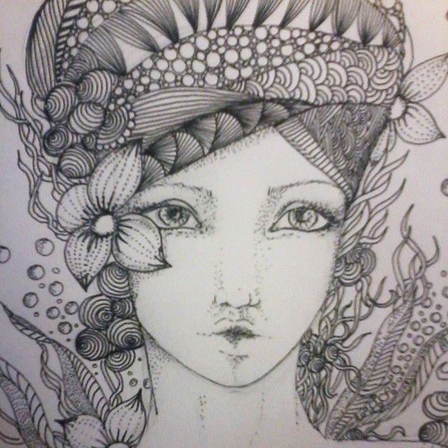 #draw #drawing #dessin #instadraw #Myart #zen #ZenArt #Zentangle #zentangleart #doodleuniverse #doodle #DoodleArtist #doodling #doodleart #doodlegalaxy #learnzentangle #beautiful_mandalas #featureuniverse #mandala #the_art_competition #mandaladoodle #mandalaart #theartuniverse #thedoodlenotebook #design #abstract #Sketch #pencil #UniPin
