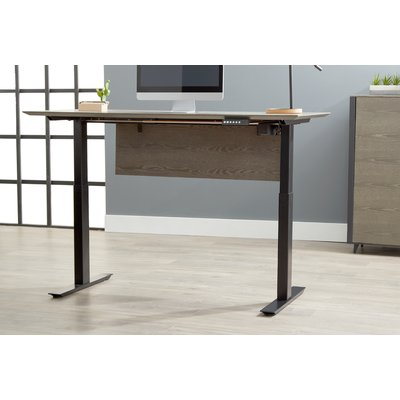 Union Rustic Clift Height Adjustable Standing Desk Size 52 W X