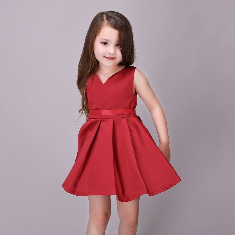 2017 Gowns Children Dresses Kids Clothes Gown Bridesmaid Child Baby ...