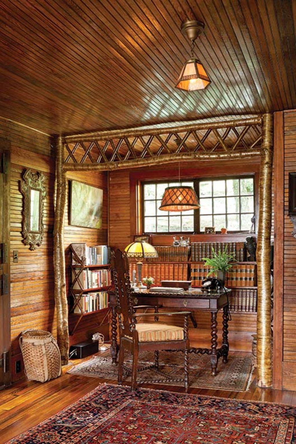 Restoring an Adirondack Camp | Cabin interiors, Cabin ...