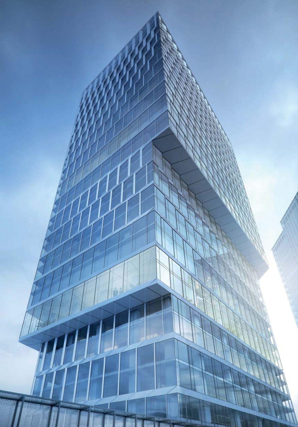 1 preis henn architektur hochhaus futuristische architektur und architektur - Futuristische architektur ...