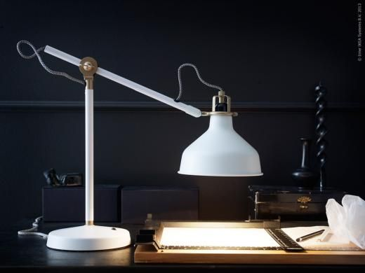 RANARP Arbetslampa off white (med bilder)   Ikea