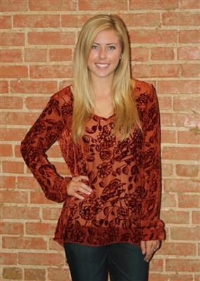 Blue Door Boutique, great top for fall!