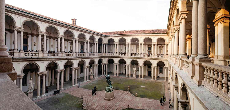 MILANO.  Pinacoteca di Brera