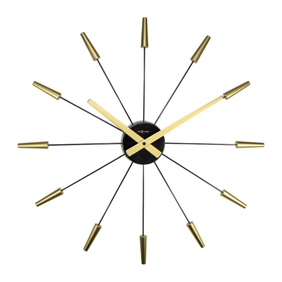 horloge murale gold design disponible sur artwall and co