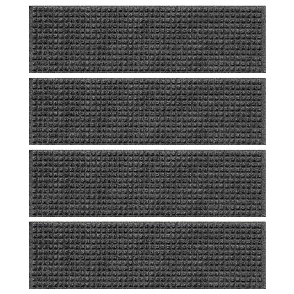 Best Aqua Shield Charcoal 8 5 In X 30 In Squares Stair Tread 400 x 300