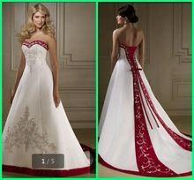 Robe de mariee 2 couleur