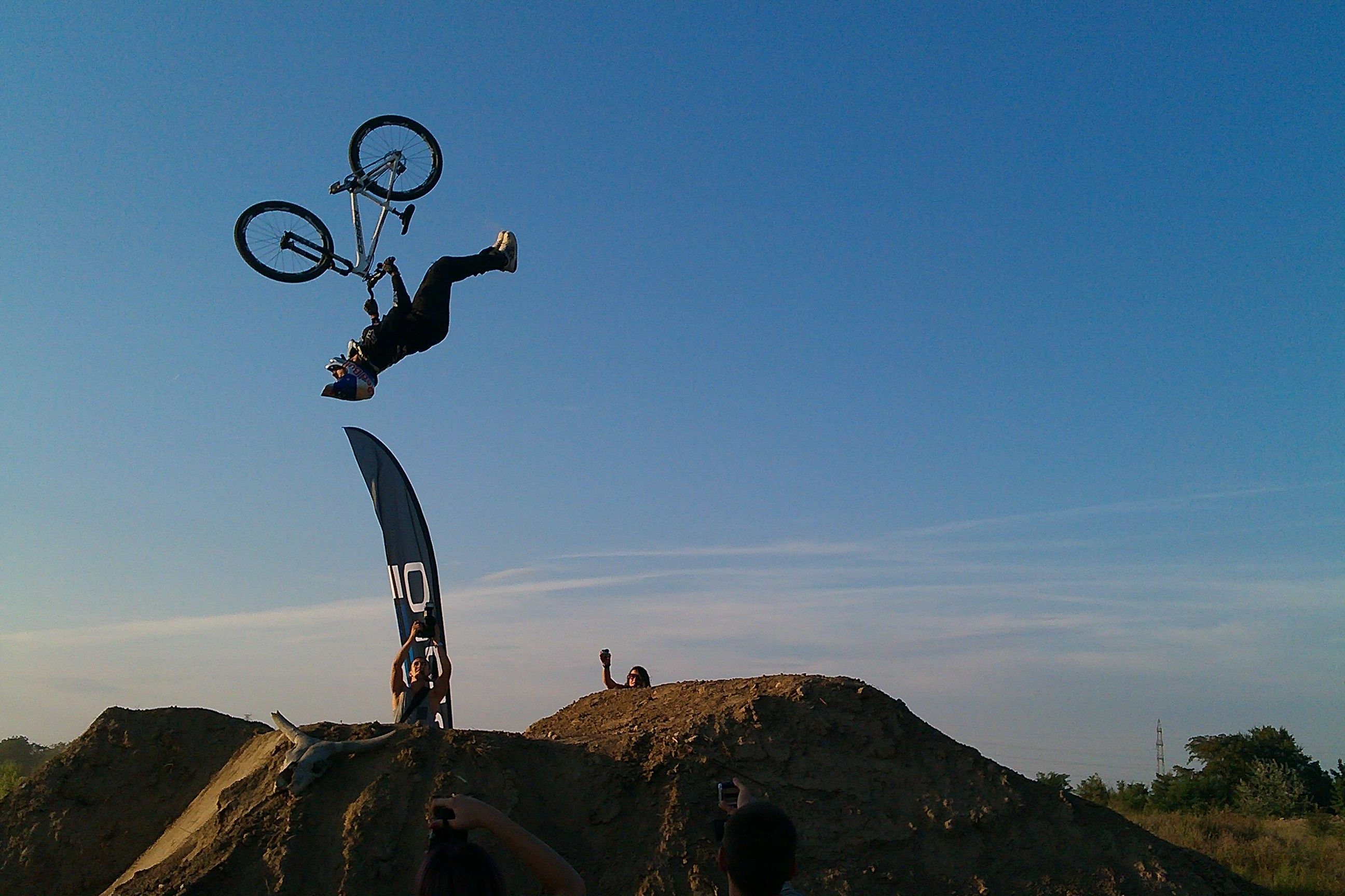 One Of The Best Mtb Riders Mislav Mironovic Fliping On Dirt Jump