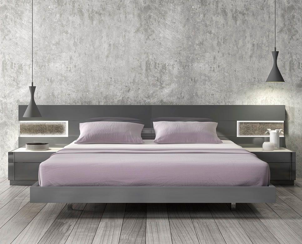Contemporary Bed Designs modern_platform_bed_front_view_jm-braga (966×780) | design