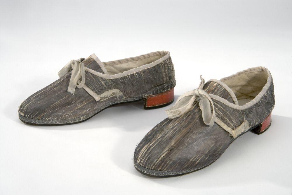 Ceremonial shoes of Gustav III of Sweden, 1778.