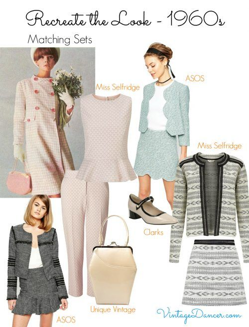 60s Mod Clothing Outfit Ideas Fashion Vintage Inspired Fashion 1960 Outfits