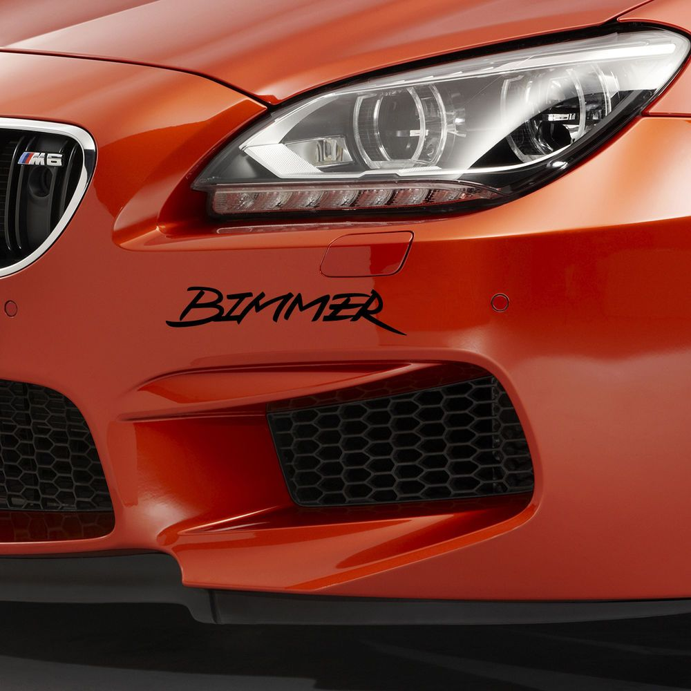 Detailkorea Griben Car Nickname Lettering Decal Sticker BIMMER