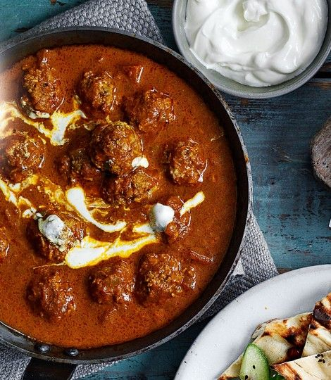 Lamb kofta curry recipe lambs curry and green chilli lamb kofta curry lamb mince recipeshealthy mince recipesindian food forumfinder Gallery