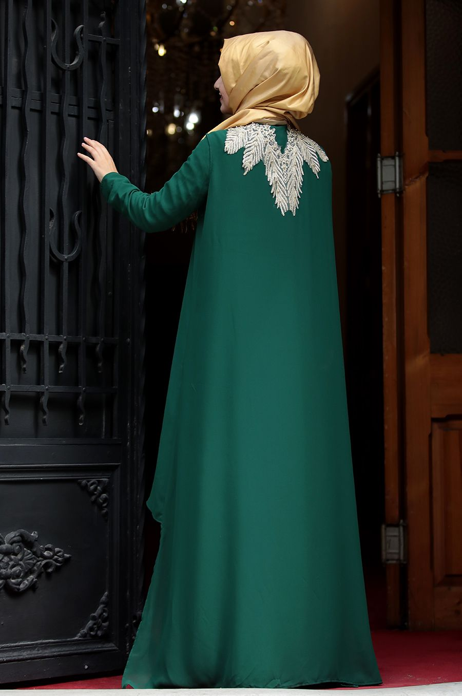 Sumay Moda Zumra Abiye Zumrut Musluman Modasi Moda Moda Stilleri