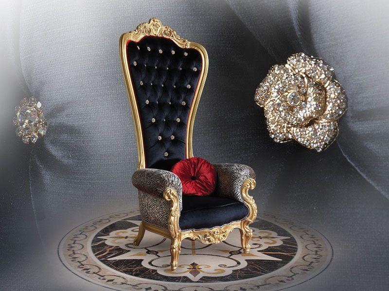 Lovely Regal Armchair Throne By Caspani Price   Google Zoeken Photo
