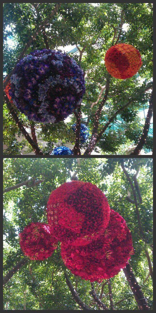 Flower Orbs at the Wynn {Beaux & Belles blog}