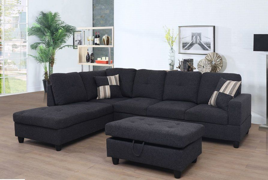 Stupendous Russ Sectional With Ottoman Studio Apartment In 2019 Alphanode Cool Chair Designs And Ideas Alphanodeonline